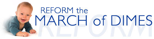 Reform the March of Dimes